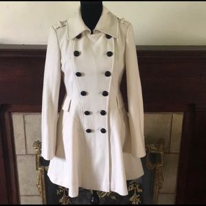 Via Spiga Lined fitted trench